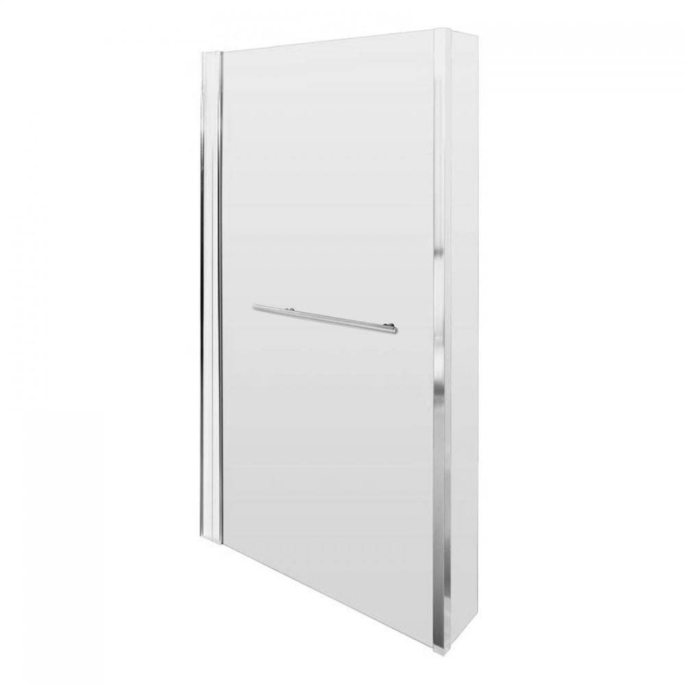 Milan Shower Bath - 1700mm L Shaped Inc. Screen with Rail + Panel  Profile Large Image