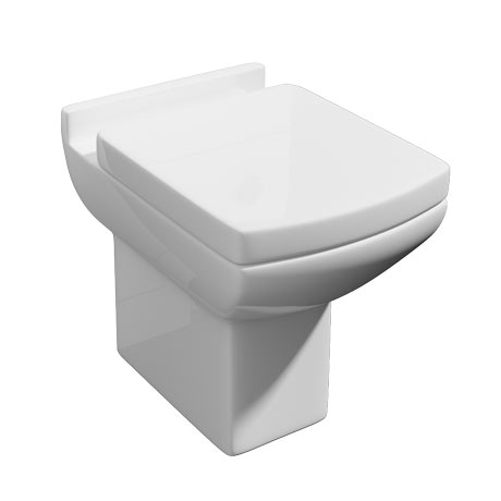 square toilet seat uk. Milan Square Back To Wall Toilet  Soft Close Seat Victorian