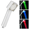 Milan Square LED Chrome Shower Handset Small Image