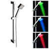 Milan Square Slider Rail Kit + LED Shower Handset profile small image view 1