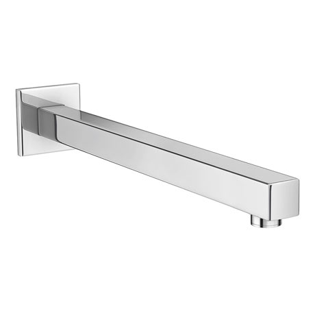 Milan Square Wall Mounted Shower Arm - Chrome