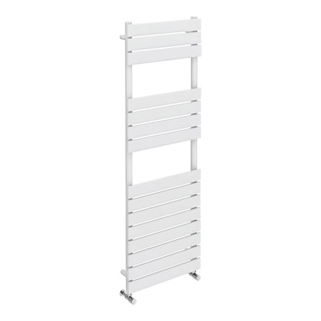 Milan White 1500 x 500mm Heated Towel Rail