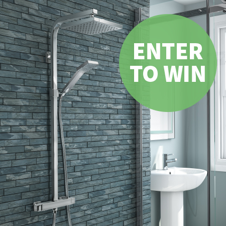 Your Chance to Win a Milan Thermostatic Shower!