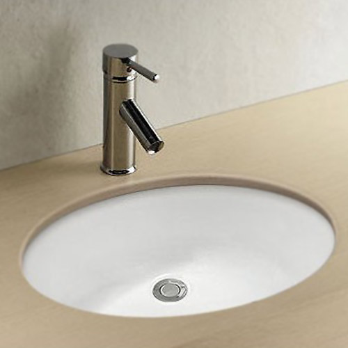 Milos Oval Under Counter Basin 0TH - 495 x 420mm Large Image