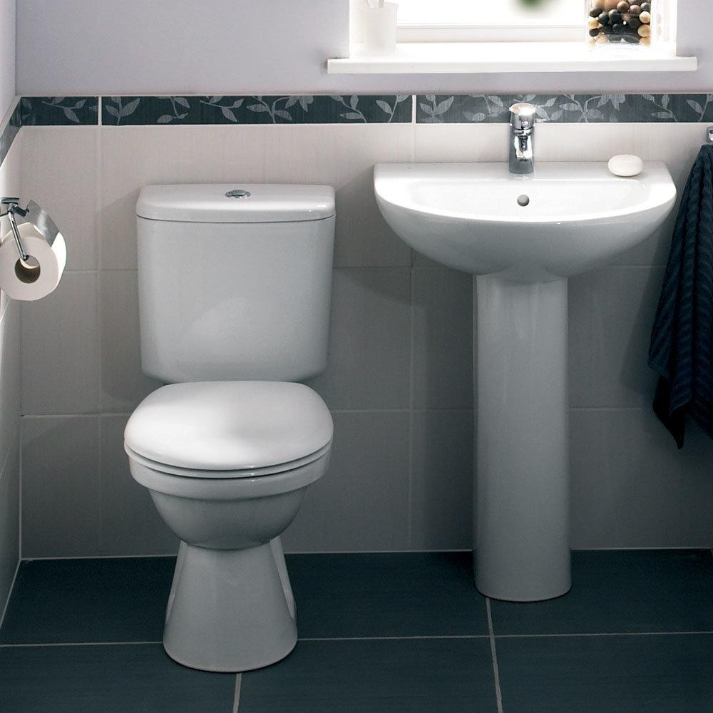 Vitra - Milton Close Coupled Toilet Feature Large Image