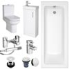 Minimalist Compact Complete Bathroom Package profile small image view 1