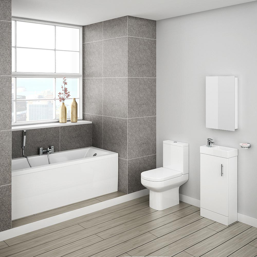 Minimalist Compact Complete Bathroom Package profile large image view 4