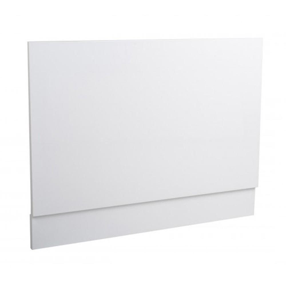 Minimalist White Gloss MDF End Bath Panel Large Image