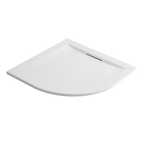 Mira Flight Level Safe 900 x 900mm Anti-Slip White Quadrant Shower Tray
