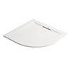 Mira Flight Level 1000 x 1000mm White Quadrant Shower Tray profile small image view 1