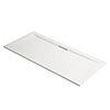 Mira Flight Level Rectangular Shower Tray profile small image view 1