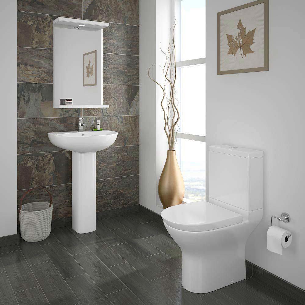 Mirage Freestanding Bath Suite  Feature Large Image