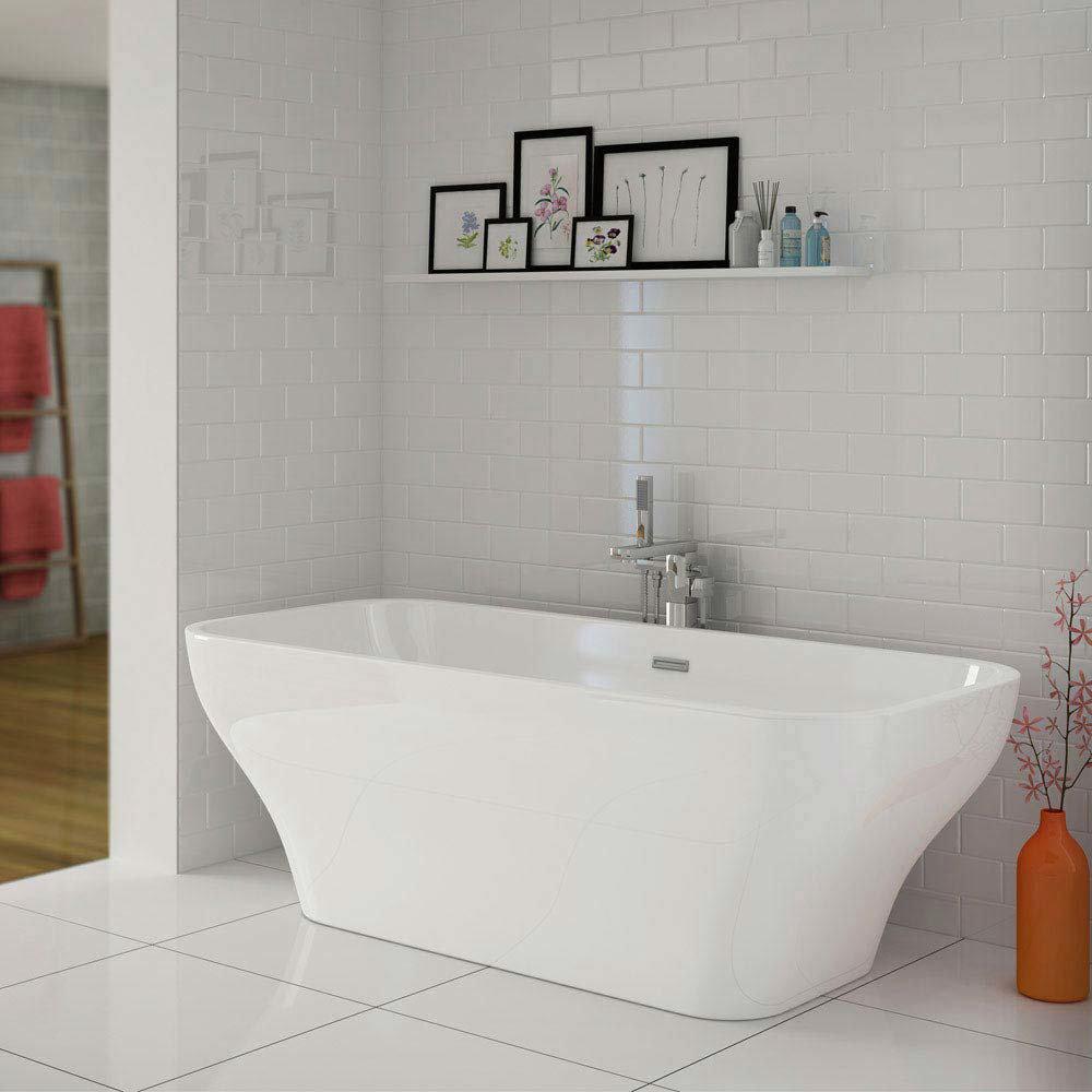 Mirage Freestanding Bath Suite  In Bathroom Large Image