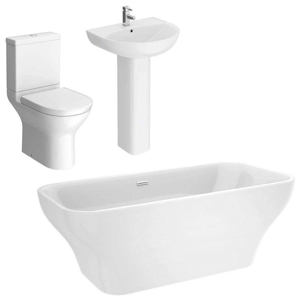 Mirage Freestanding Bath Suite Large Image