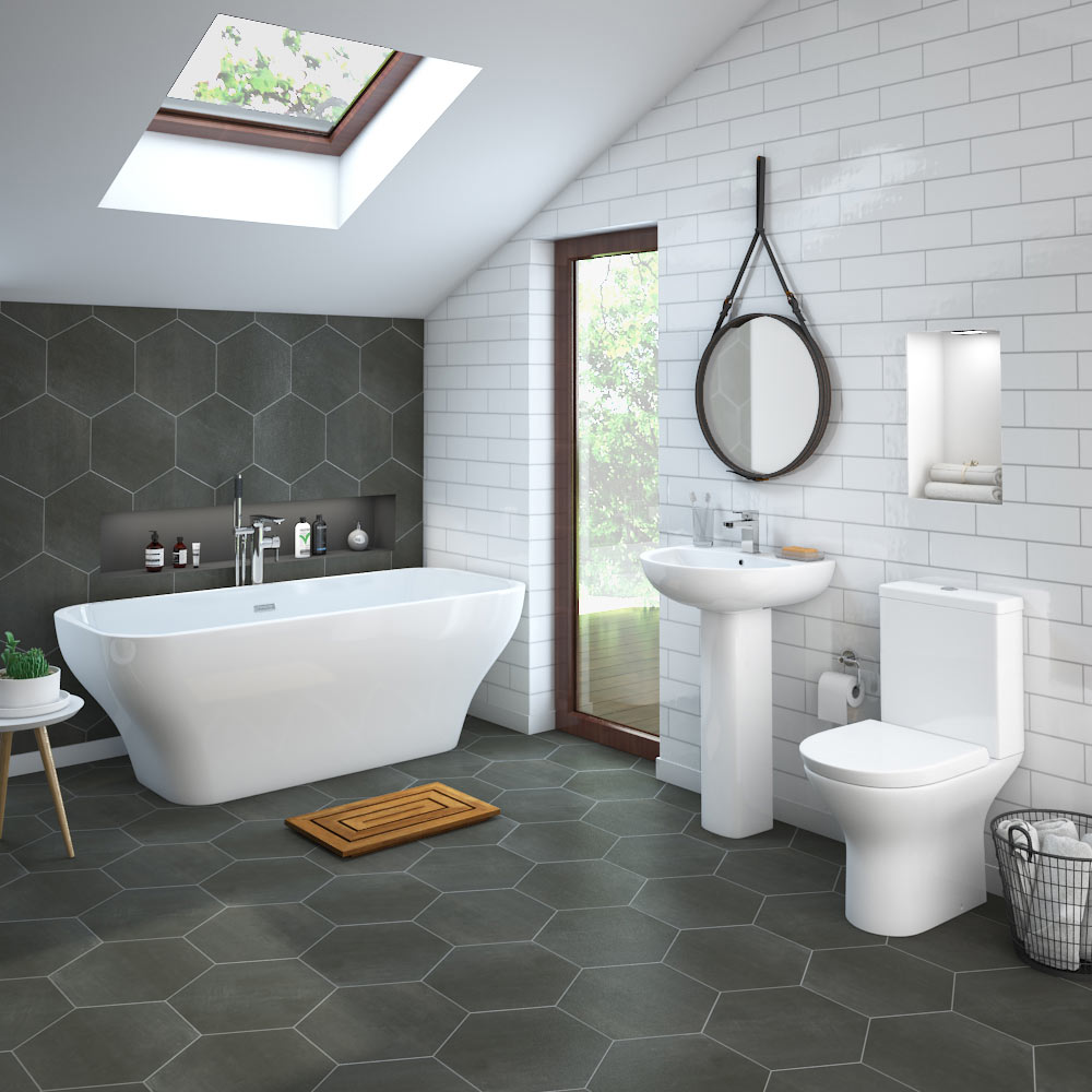 Bathroom Ideas: Mirage Freestanding Bath Suite