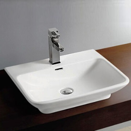 Large Wall Hung Basin : Moda Wall Hung Basin 1TH Available From Victorian Plumbing.co.uk