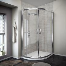 Turin 8mm Offset Quadrant Shower Enclosure Medium Image