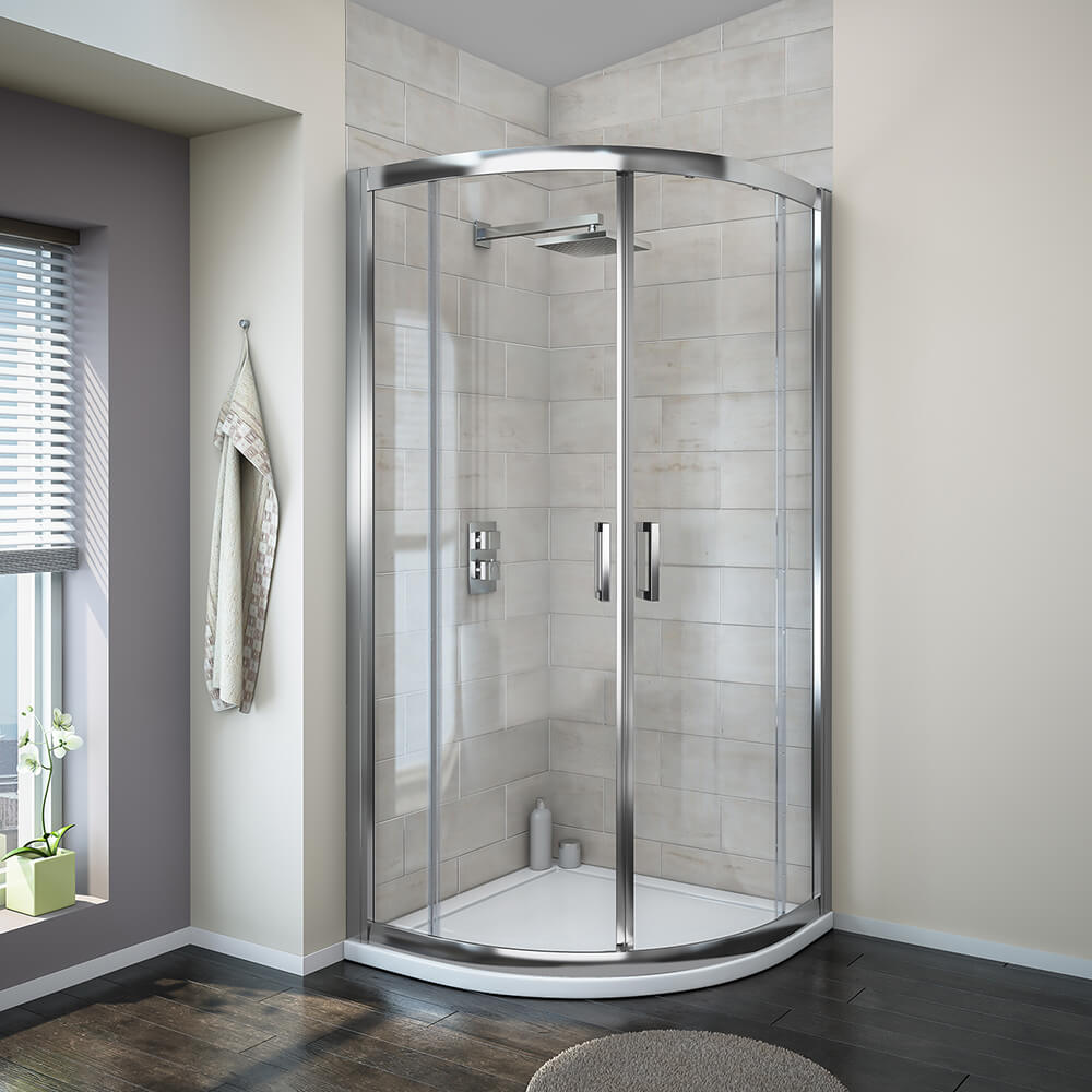 Turin 8mm Quadrant Shower Enclosure - MODQ800