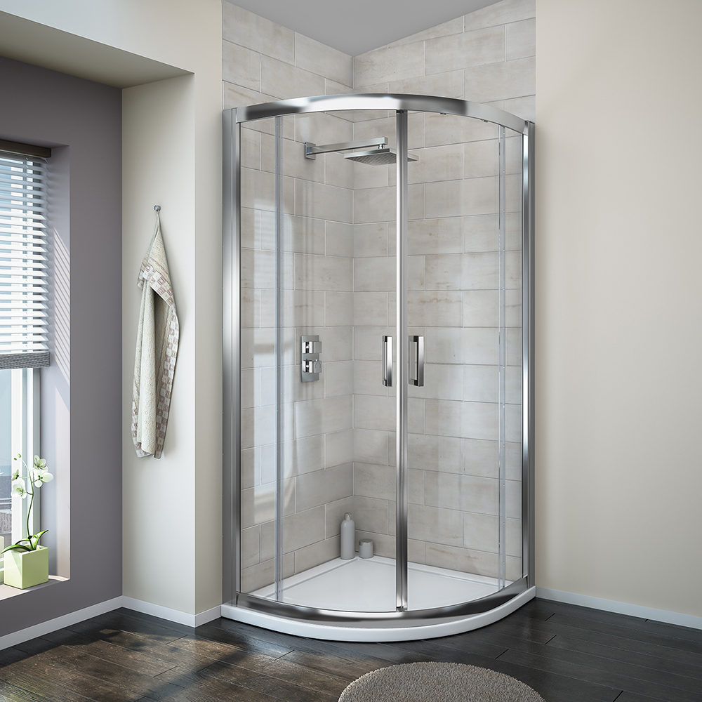 Turin Shower Enclosure | The Ultimate Guide To Grey Bathrooms