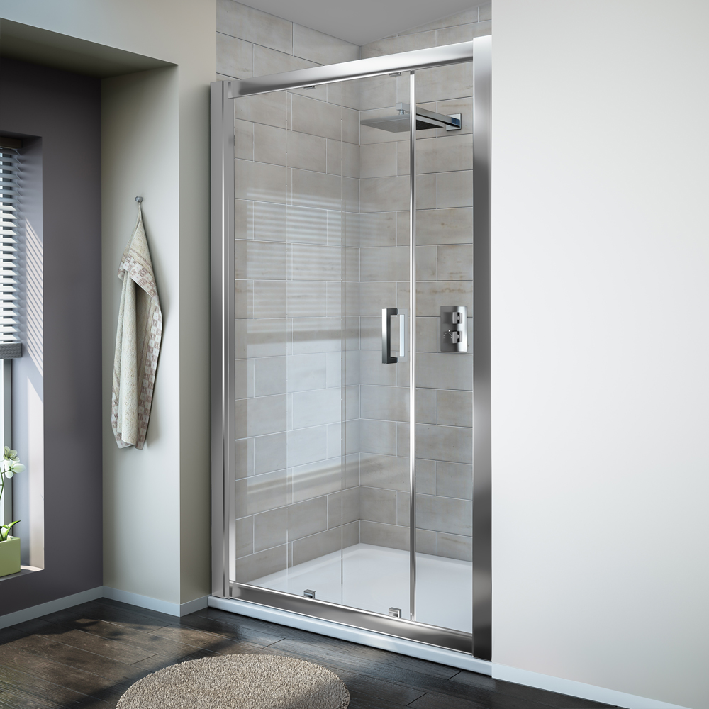 Turin 'Easy Fit' Sliding Shower Door