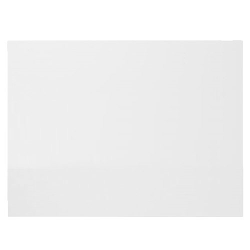 Turin White MDF 700mm End Bath Panel - NMP131 Large Image