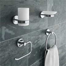 Modern 4-Piece Bathroom Accessory Pack Medium Image