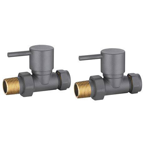 modern anthracite straight radiator valves victorian. Black Bedroom Furniture Sets. Home Design Ideas