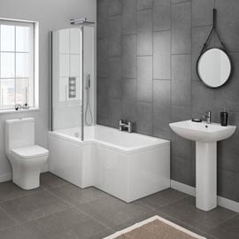 Complete bathroom suites packages victorian plumbing for Small 3 piece bathroom ideas