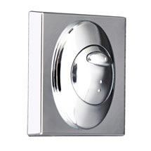 Modern Square Mount for Concealed Cistern Push Buttons Medium Image