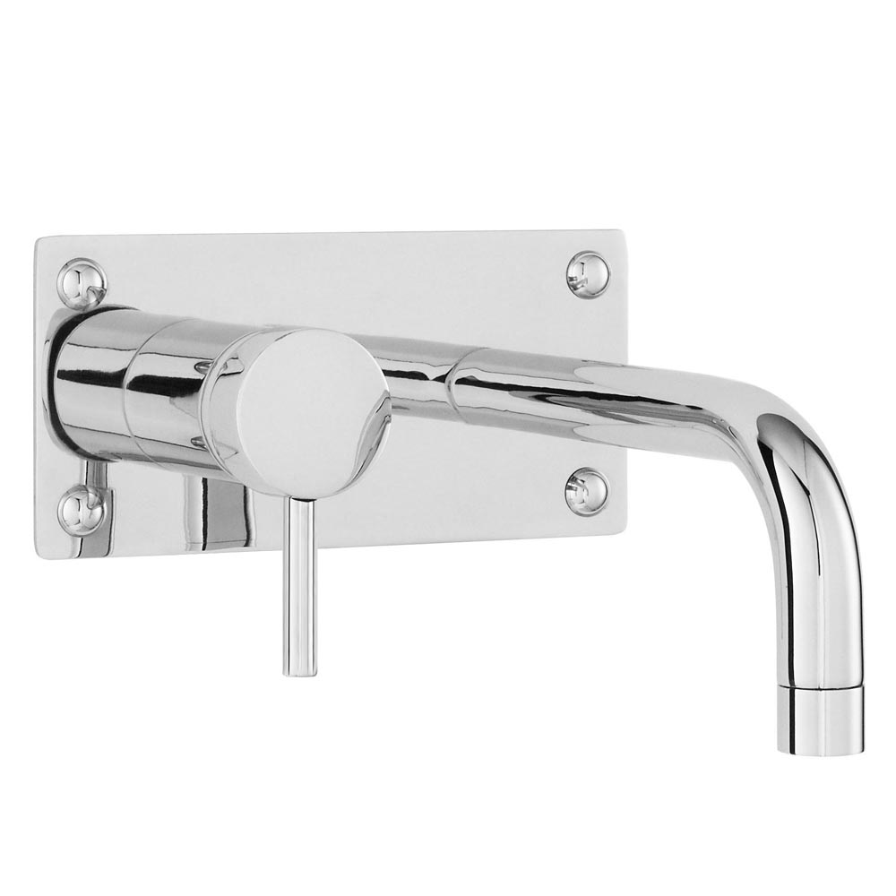 Modern Wall Mounted Tap - Chrome Large Image