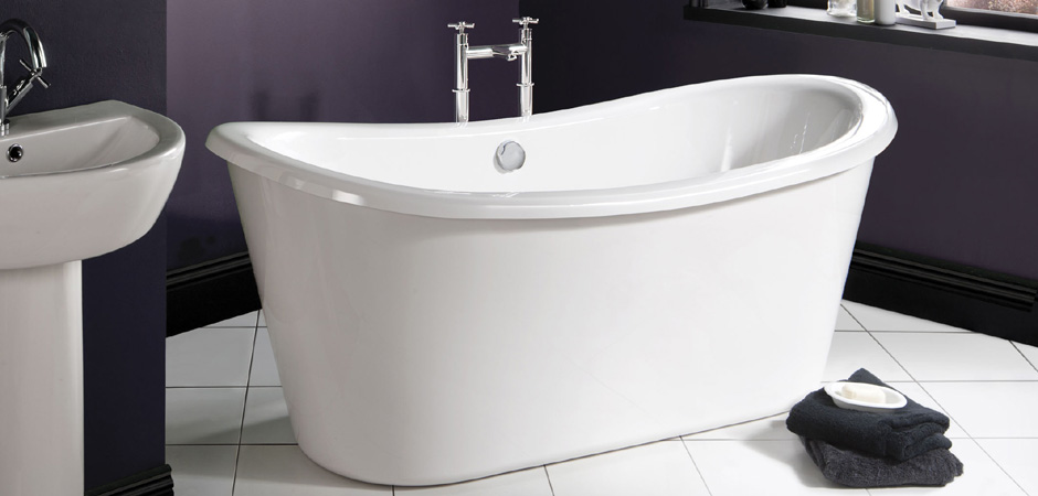 Double ended freestanding bathtub