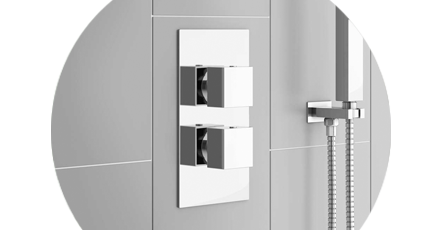 Modern concealed shower valve   Victorian Plumbing