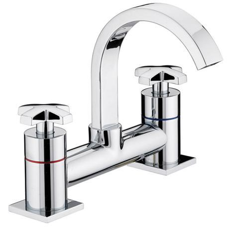 Bristan - Moloko Bath Filler - Chrome - MLK-BF-C