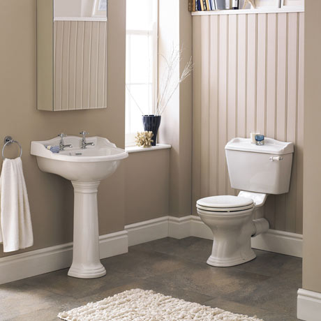 Monaco 4-Piece Traditional Bathroom Suite