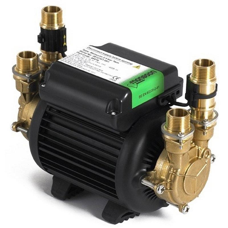 Stuart Turner - Monsoon Standard Twin Impeller Shower Pump - 3 options Large Image