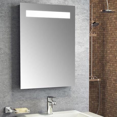 Montreal 500x700mm LED Mirror Inc. Anti-Fog Demist + Shaving Port