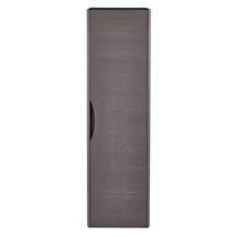 Monza 350mm Wide Tall Wall Hung Unit (Stone Grey Woodgrain - Depth 250mm) Medium Image