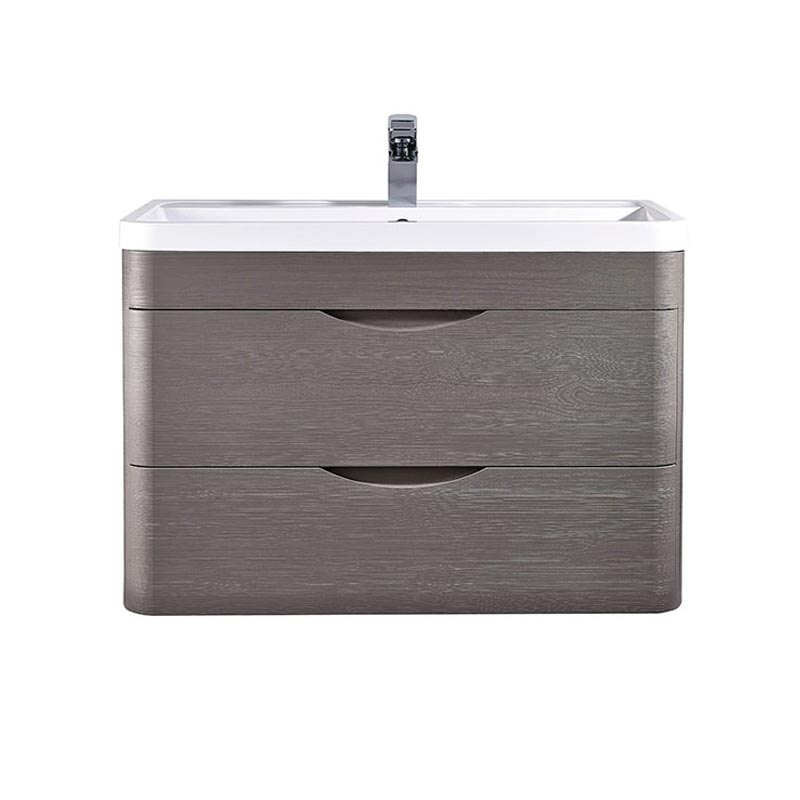 Monza Stone Grey Wall Hung Vanity Unit