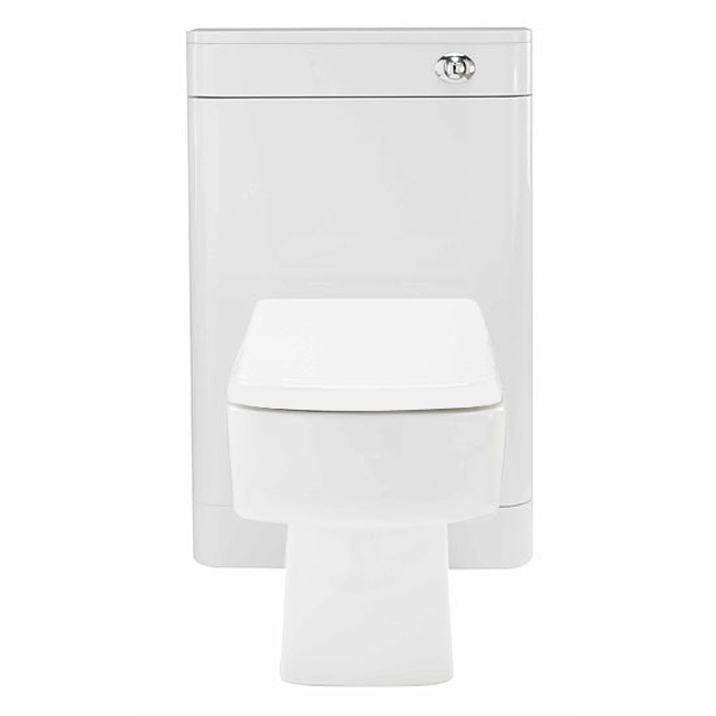 Monza BTW Toilet with Bliss Square Pan + Seat  Profile Large Image