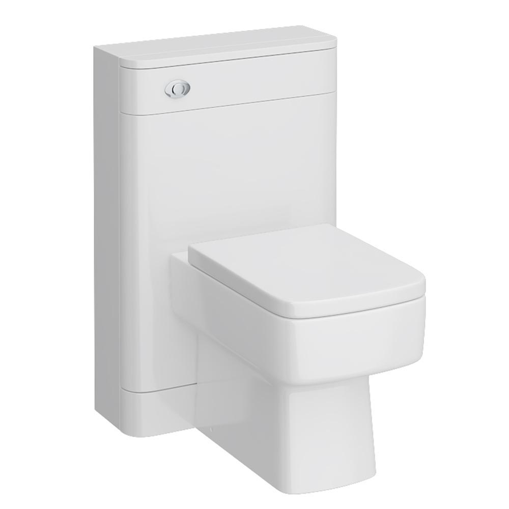Monza BTW Toilet with Bliss Square Pan + Seat Large Image