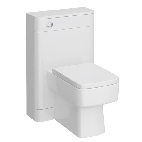Monza BTW Toilet with Bliss Square Pan + Seat