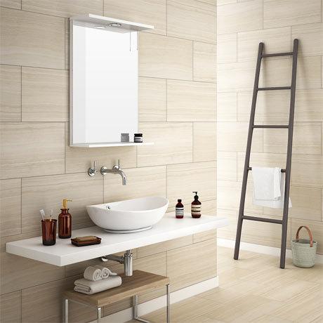 Monza Beige Wood Effect Tile - Wall and Floor - 600 x 300mm