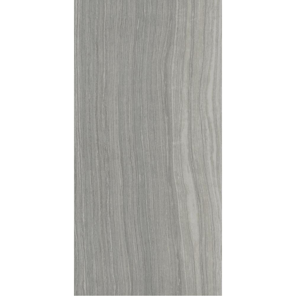 Monza Grey Wood Effect Tile - Wall and Floor - 600 x 300mm Large Image