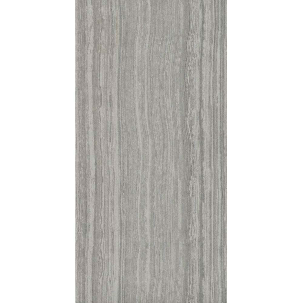 Monza Grey Wood Effect Tile - Wall and Floor - 600 x 300mm  Standard Large Image