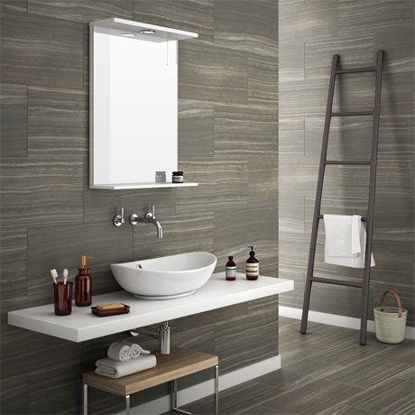 Monza Mocha Wood Effect Tile - Wall and Floor - 600 x 300mm