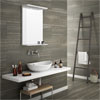 Monza Mocha Wood Effect Tile - Wall and Floor - 600 x 300mm Small Image