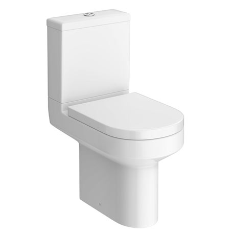Monza Round Short Projection Toilet + Soft Close Seat