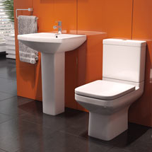 Monza Square 4-Piece Bathroom Suite Medium Image