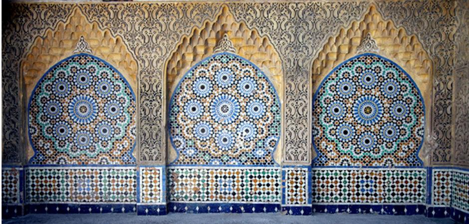 Moorish bathroom image