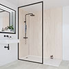 Multipanel Heritage Alabaster Oak Bathroom Wall Panel profile small image view 1